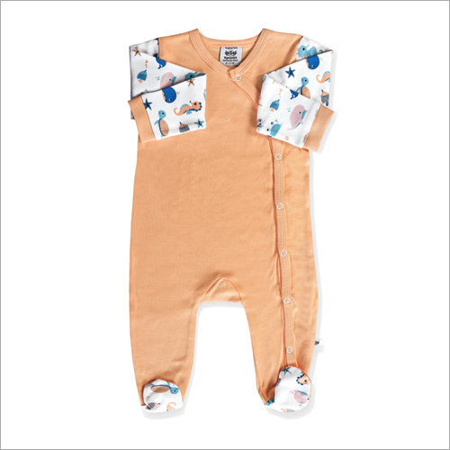 Full Sleeve Footed Romper