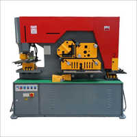 HYDRAULIC PUNCH AND SHEARING MACHINE
