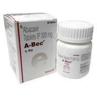 A-bec tablets (Abacavir Tablets 300mg - Emcure)