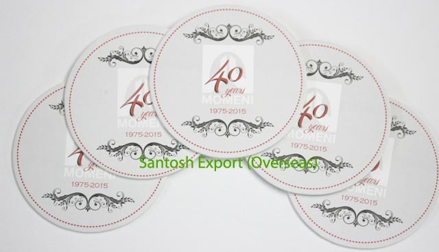 Absorbent Paper Coaster