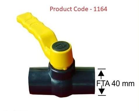 Ball Valve FTA Thread / 40 mm