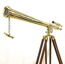 Floor Standing Brass Griffith Astro Telescope 64