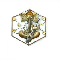 Lord Ganesha With LED Wall Decor