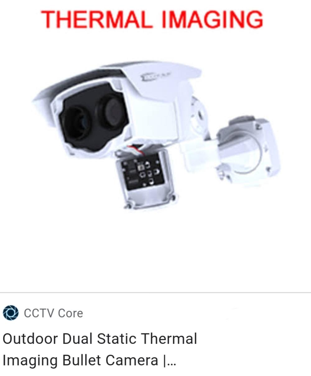 Dual Lens Thermal Camera System