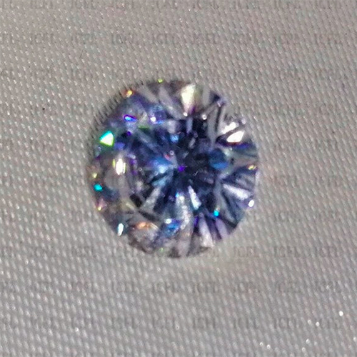 Round Cut Forever Brilliant Colorless Sparkle Loose Moissanite