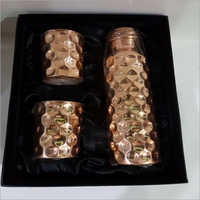Copper Bottles Set