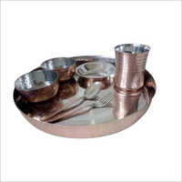 Copper Steel Dinner Sets