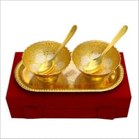 Silver And Gold Plated Bowls