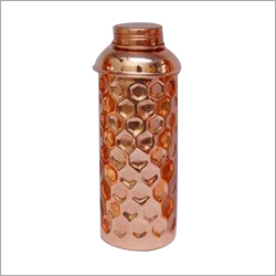 Designer Pure Copper Water Bottle