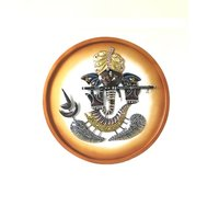 Lord Ganesha On Board Wall Decor