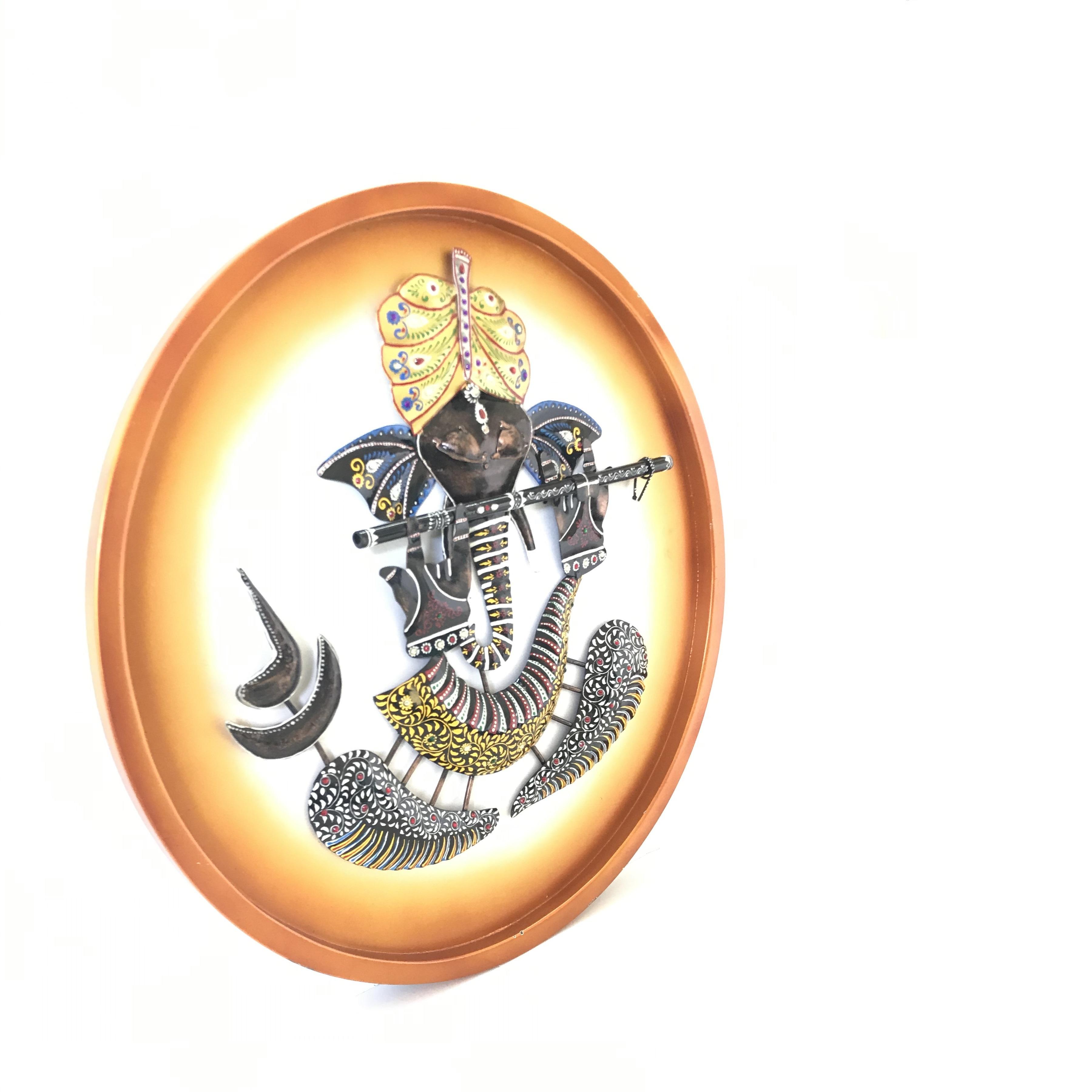 Lord Ganesha On Board Wall Decor