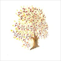 Colored Decorative Tree