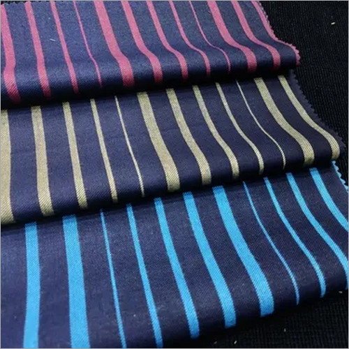 DENIM YARN DYED STRIPE FABRICS