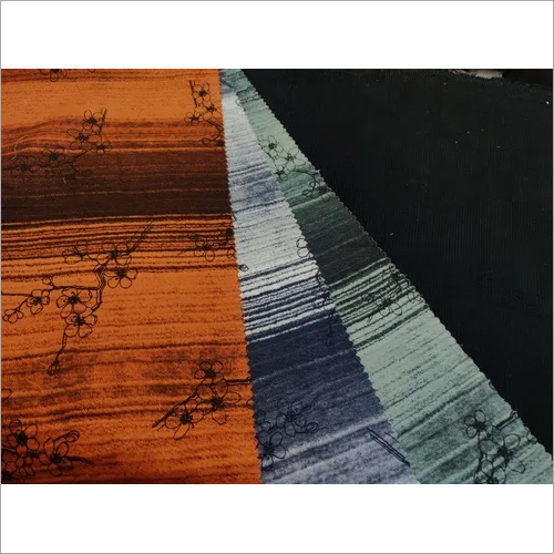 Adjustment printed fabric