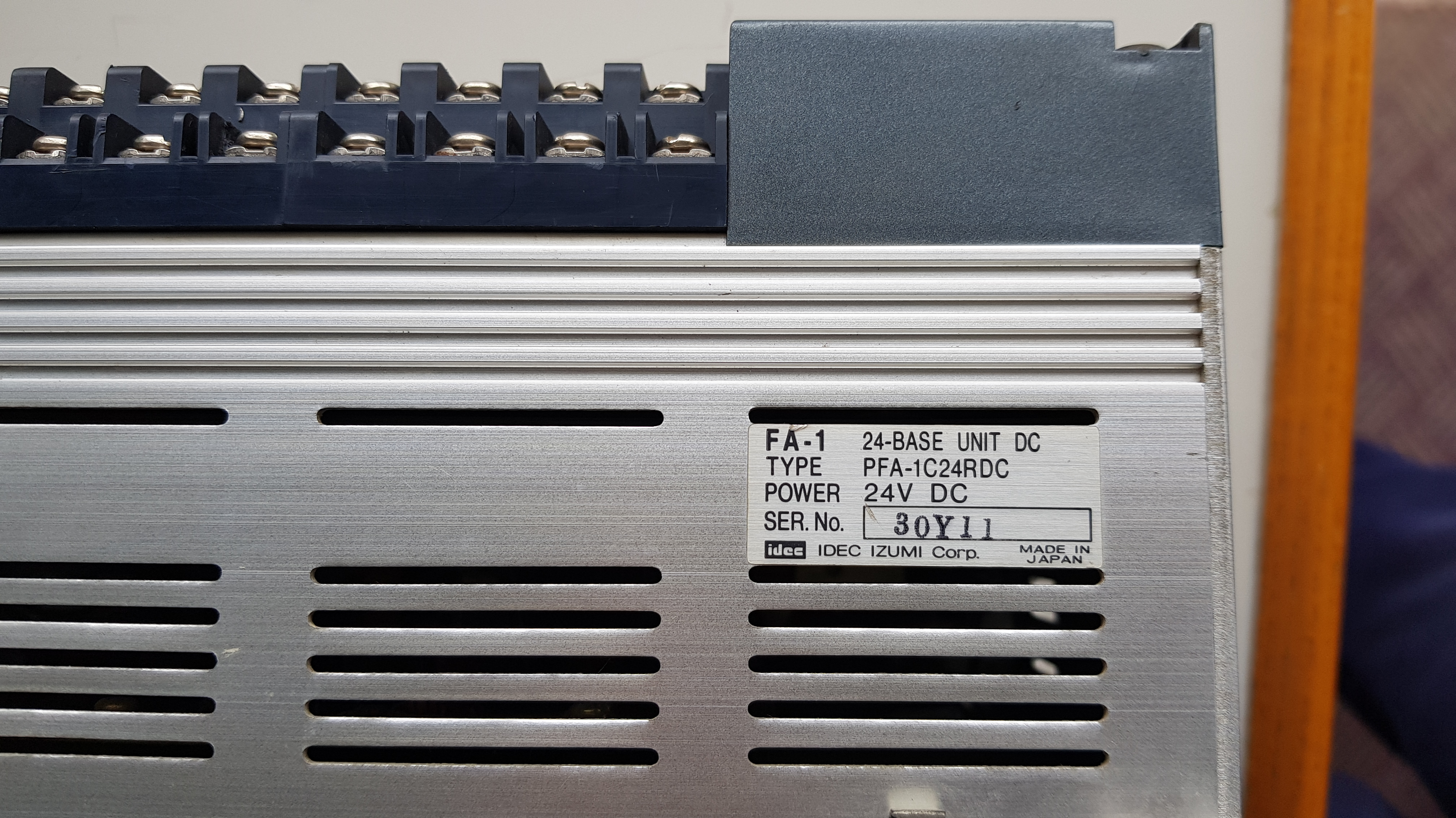 IDEC PFA-1C24RDC