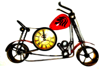 Red Bullet With Clock