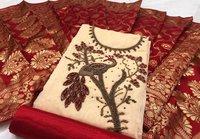 Silk handwork dress