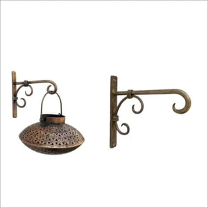 T \\342\\200\\223LITE DEKHI CANDLE STAND With Wall Bracket