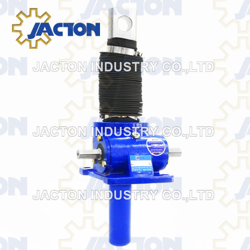 1 Tonne Metric Single Face Machine Screw Jacks (mechanical actuators)