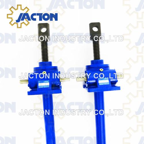 2.5 Tonne Worm Gear Machine Screw Jacks Translating and Rotating Screw configurations