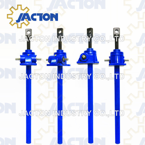 2.5 Tonne Worm Gear Machine Screw Jacks Translating and Rotating Screw configurations