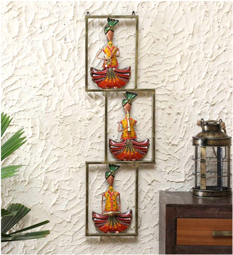 Three Musicians Metal Wall Art