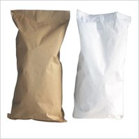 Brown / White Paper Laminated PP Bags