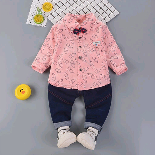 Baby Shirt With Pant Set