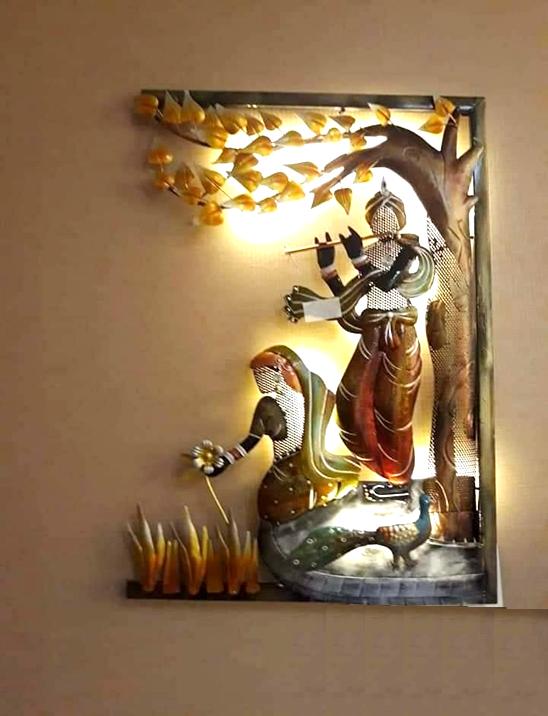 Wonderland Radha Krishna Frame