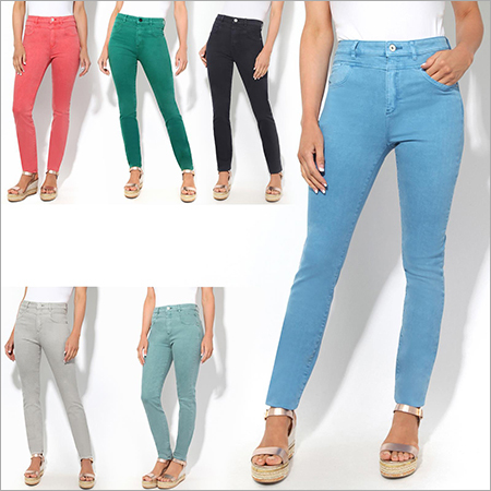 Ladies Cotton Jeans