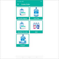 Water Supplier Android Software Application