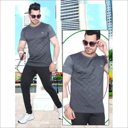 Mens Fancy Round Neck T-Shirt