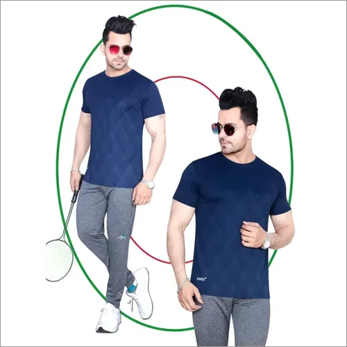 Mens Fashionable Round Neck T-Shirt