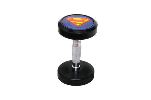 Superman PU Coated Dumbbells