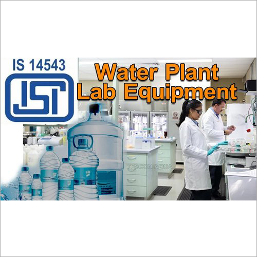 BIS-ISI PDW Water Plant Laboratory Set Up