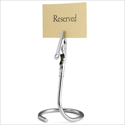 Signage Menu Table Tent Card Holder Clip