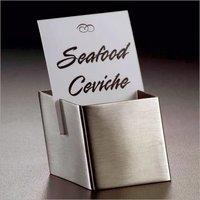 Signage Menu Table Tent Card Holder 3 cm square