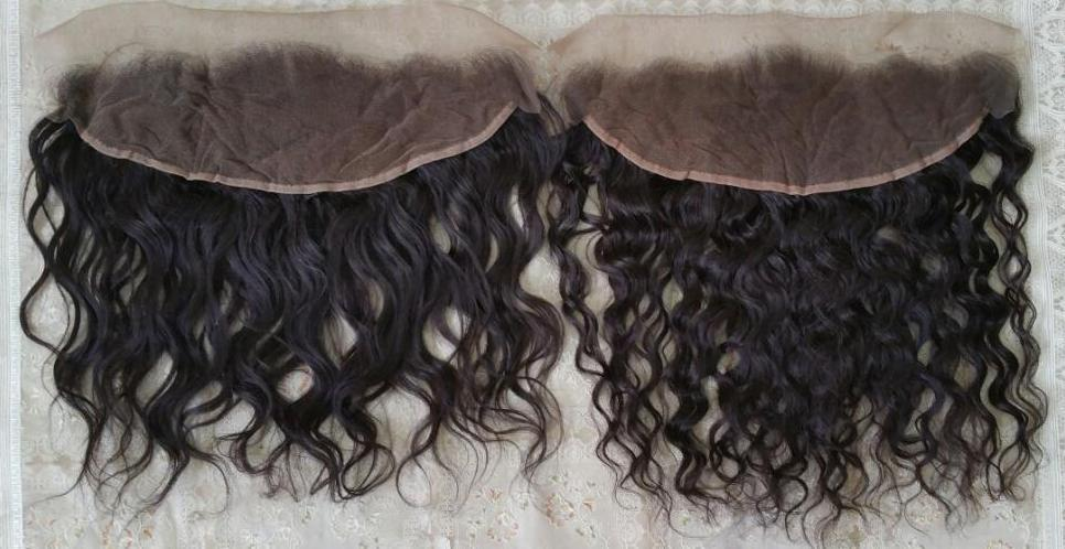 Raw curly hair lace frontal