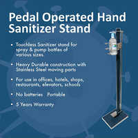 Pedal Operated Hand Sanitizer Stand