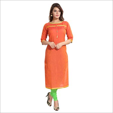 Ladies Handloom Designer kurti