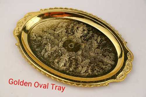 OVAL TRAY (GOLD)