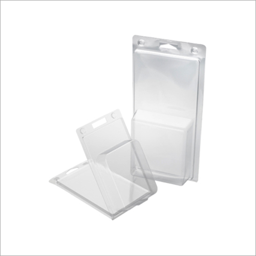 PVC Transparent Clamshell Blister Pack