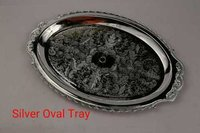 OVAL TRAY (SILVER)