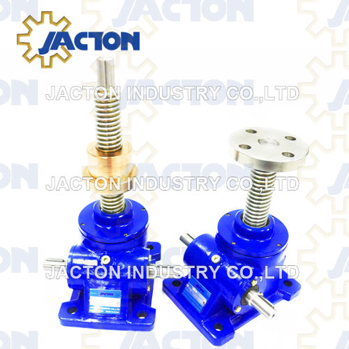 5 Tonne Worm Gear Machine Screw Jacks Upright and Inverted Screw design types