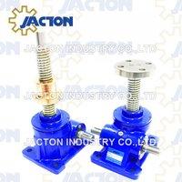 5 Tonne Worm Gear Machine Screw Jacks Upright and Inverted Screw design types
