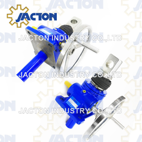 15 tonne worm gear machine screw jacks anti-rotation (keyed) design option