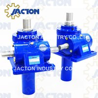 50 tonne worm gear machine screw jacks lift and precisely position loads