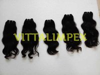 Wefted Unprocessed Human Hair