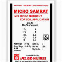 Sulphate and Micro Nutrient Fertilizers