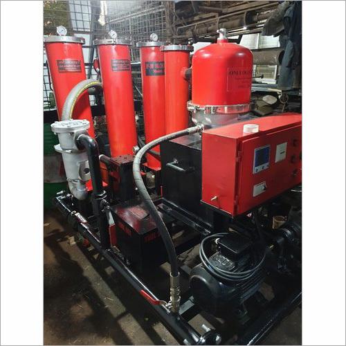 Lube Oil Filtration Machine